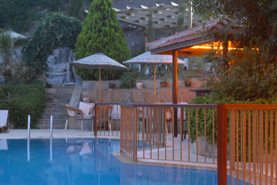 Aegean Gate Hotel: Twilight hour