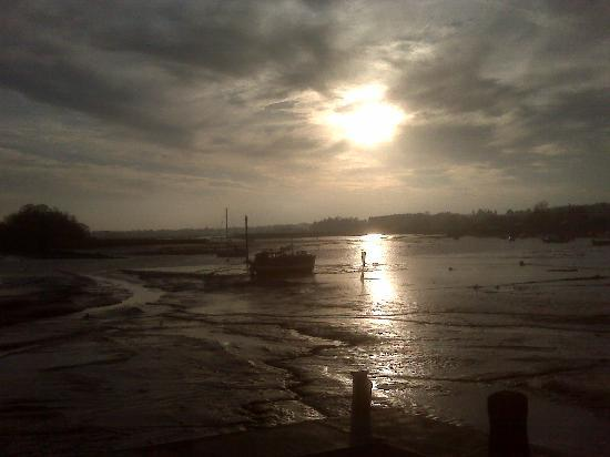 Woodbridge, UK: cafe view