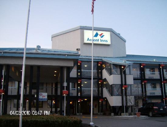 Accent Inn Kamloops: vuue de l'exterieur