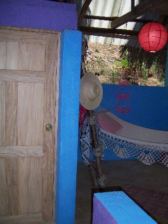 Casa Rosa: Locking storage closet in casita