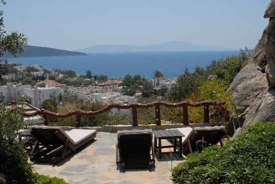 Aegean Gate Hotel: View from back of garden
