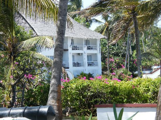 """Voyager Beach Resort: Part of the """"Cabins"""" with a sea view."""