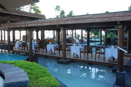 Sheraton Fiji Resort: my favourite restaurant flying fish