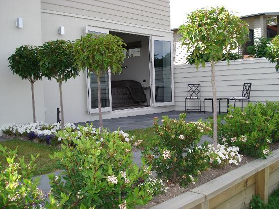 B&B @ Number Ten : A guest courtyard