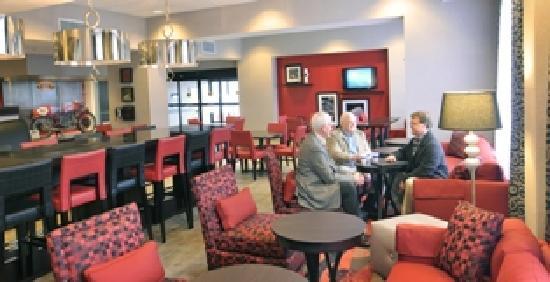 Hampton Inn Birmingham / Leeds, AL : Spacious Lobby area
