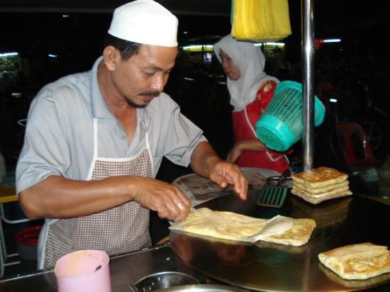Kota Bharu, Kelantan, Malaysia  Det var vist mere maries favorit ;0) - pandekager...uhm