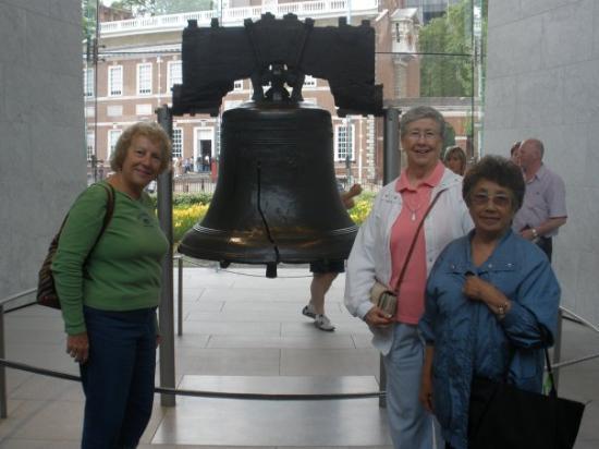 Liberty Bell Center: Joan, Pat and Bobbie