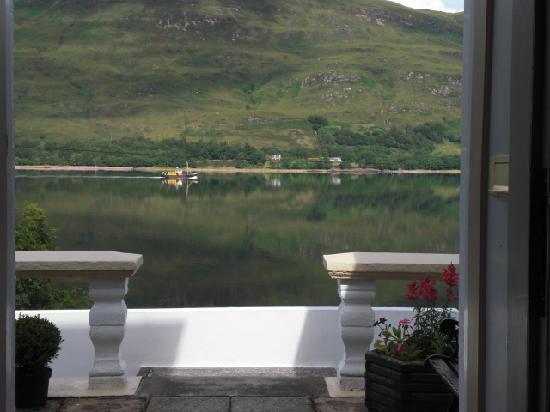 The Gantocks B&B : View from doorway