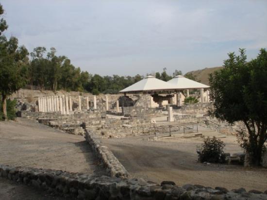 Caesarea, Israel: One of the numerous bathhouses in the city Beth Shan/Scythopolis...Roman-Byzantine and built in
