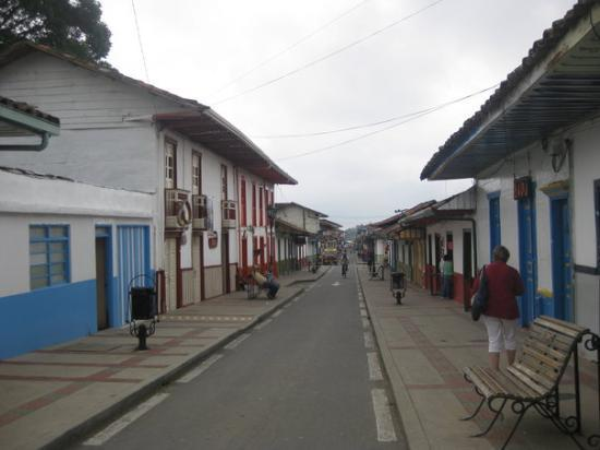 Armenia, Colombie : Calle de Salento