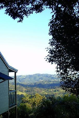Maleny Luxury Cottages: Side of Dream cabin.
