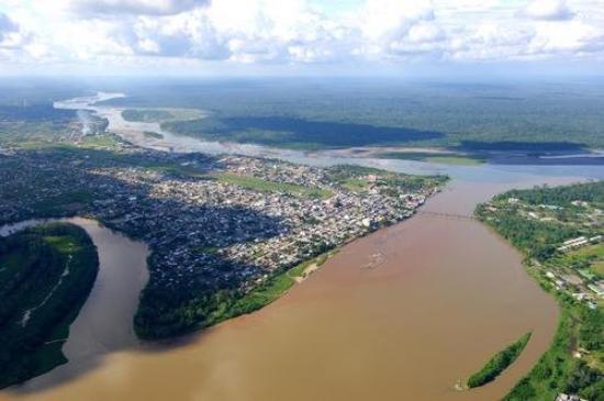 payomino river,wide NAPO river, coca river