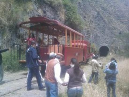 Coca, Ecuador: this the first train