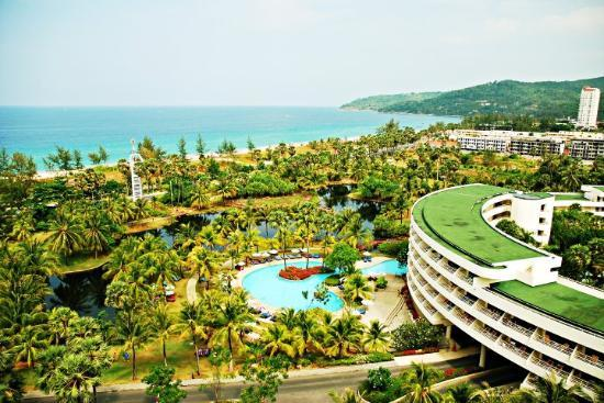 Hilton Phuket Arcadia Resort & Spa: View from Hilton executive lounge