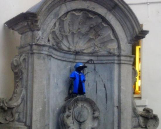 Manneken Pis: Bruxelles du 25 au 28 Février 2010