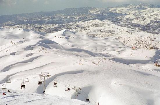 Кфардебиан, Ливан: mzaar-kfardebian et non faraya mzaar