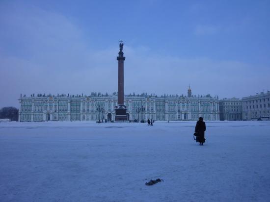 Palace Square (Dvortsovaya Ploshchad): Place de l'Etat Major ! With Nicolas the first column !