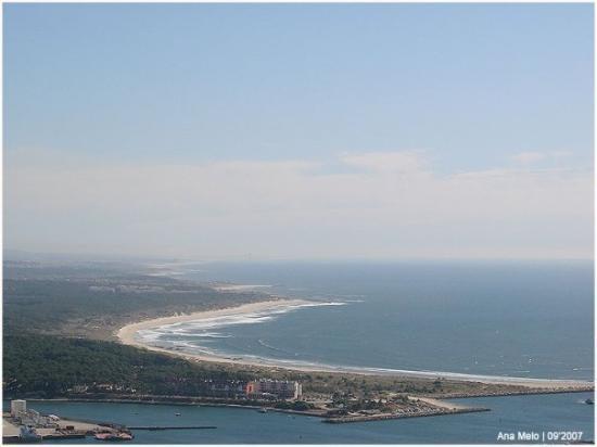 a praia de viana do castelo : la plage de viana do castelo , c'est sur cet plage que je passe le