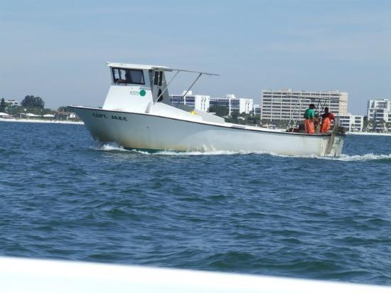Jamacia royale 075 siesta key fl united states picture for Crab fishing boat