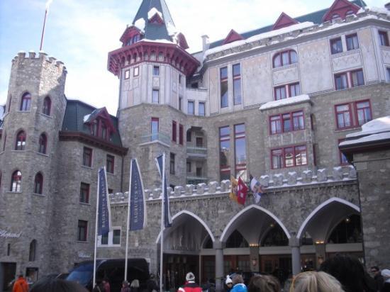 St. Moritz, Sveits: Il famoso e prestigiossissimo albergo 5 stelle