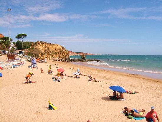 Praia dos Olhos de Água: Main part of Olhos De Agua Beach