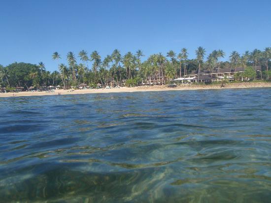 Shangri-La's Fijian Resort & Spa: The Resort from the Lagoon
