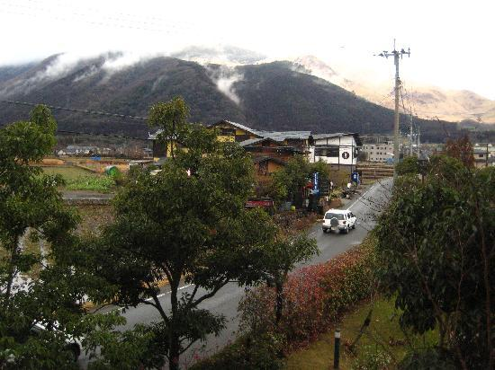 Shuhokan: View from our room