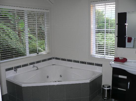 Anchor Lodge Coromandel: Spa Apartment Bath