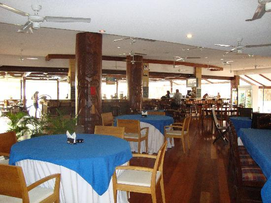 Wild Orchid Beach Resort Subic Bay : The Scalliwags Bar and Restaurant out back