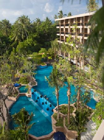 Novotel Et Kata Avista Resort And Spa Birds Eye View
