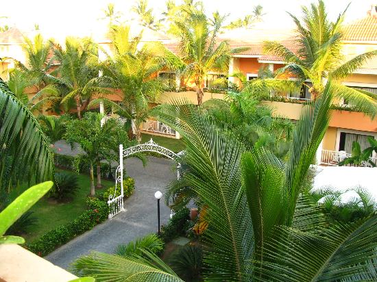 Luxury Bahia Principe Ambar: the view from our balcony