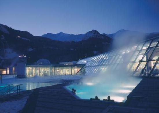 Bad Hofgastein, Austria: Outside if Relax World in the winter