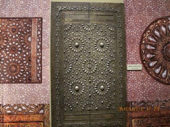 National Museum: door
