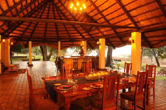 Imbabala Zambezi Safari Lodge: Imbabala Dining Area