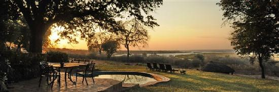 Imbabala Zambezi Safari Lodge: What a view!
