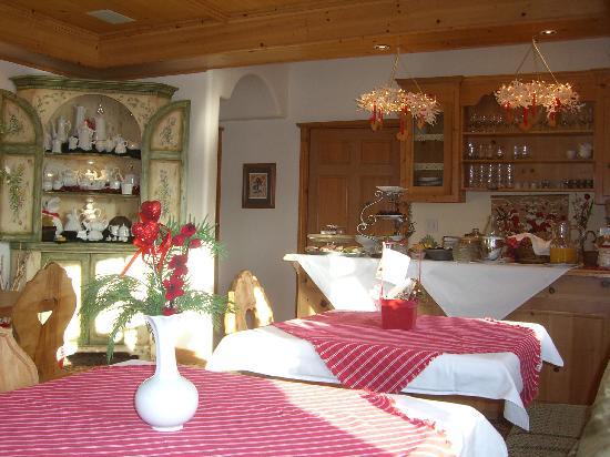 Abendblume: dining area