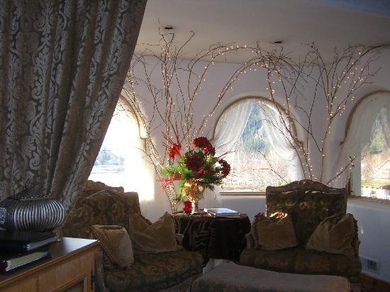 Abendblume: sitting room