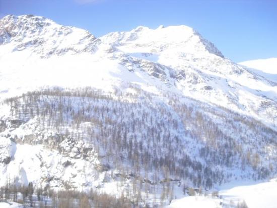 St. Moritz, Sveits: Panorama...