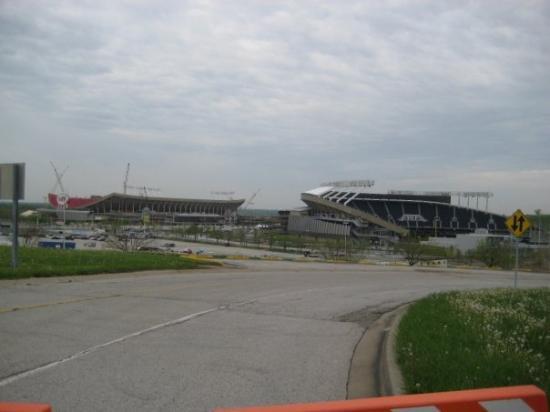 Arrowhead and Kauffman Stadiums, Kansas City, MO