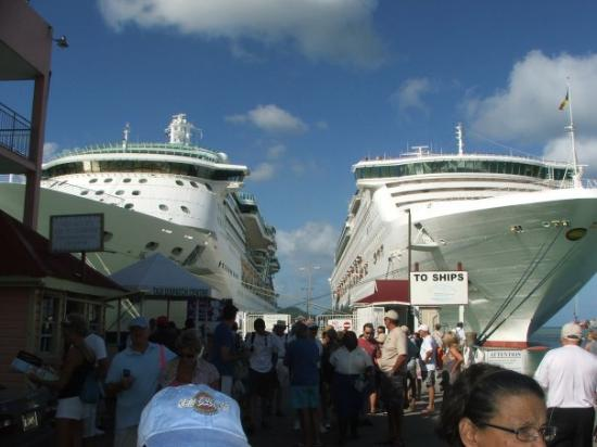 St. John's, Antigua: Antigua dock