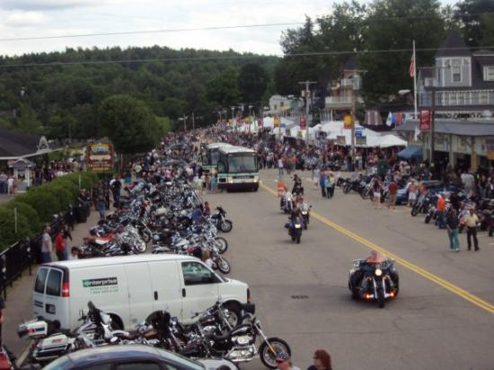 Know, how laconia bike week weirs beach