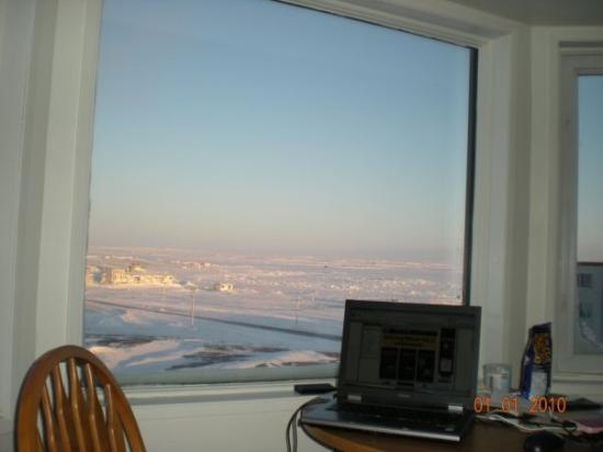 Rankin Inlet, Canada : Taken on the first day of 2010 ..The Frozen Hudson Bay