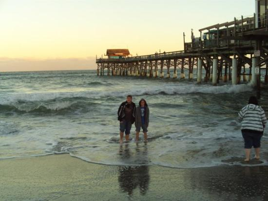 Cocoa Beach Pier: Me and fabrezze in the Ocean