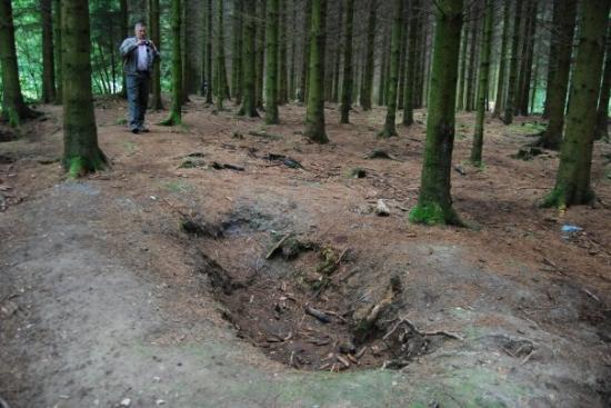 Bastogne, foxhole