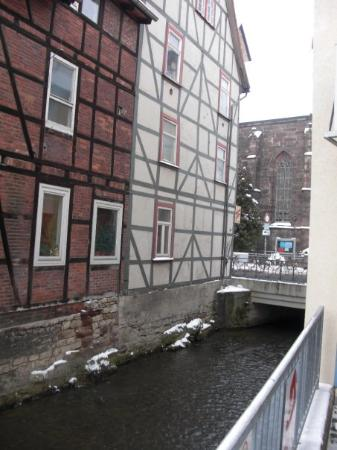 Little canal running through town picture of goettingen for Hotel rennschuh gottingen