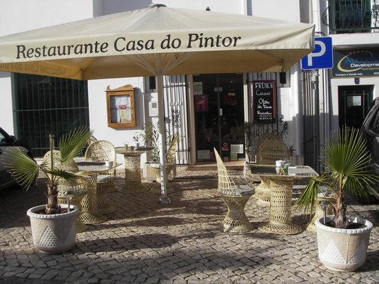 Casa do Pintor - Gourmet & Bistro: Esplanada