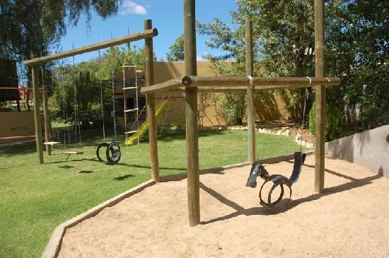 101 Oudtshoorn Holiday Accommodation: One of the playgrounds