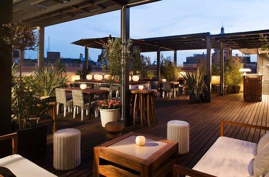 Hotel Pulitzer: rooftop terrace