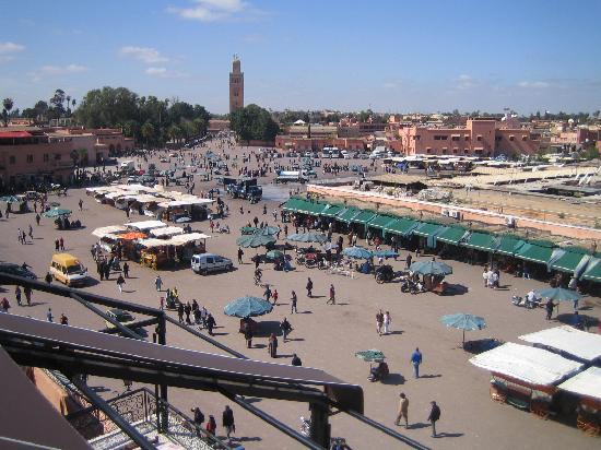 Riad Dar Najat: Medina - main square