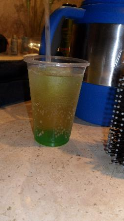 Crown Paradise Club Cancun: Give your bartender a redbull and they can make this drink for you.